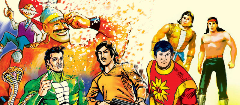 indian comic characters