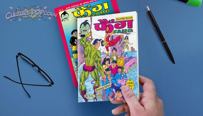 Raj Comics Fang Magazine